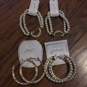 ❗️Closing❗️Lot Of Bracelets & Earrings